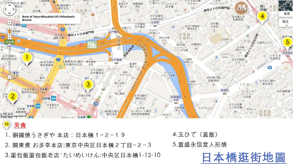 日本橋地圖