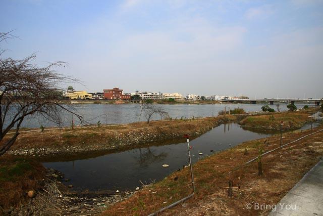 二仁溪溼地景觀