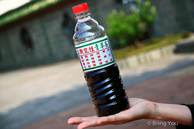 金獅湖美食 青草茶-6