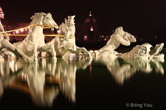 奇美博物館夜景-2