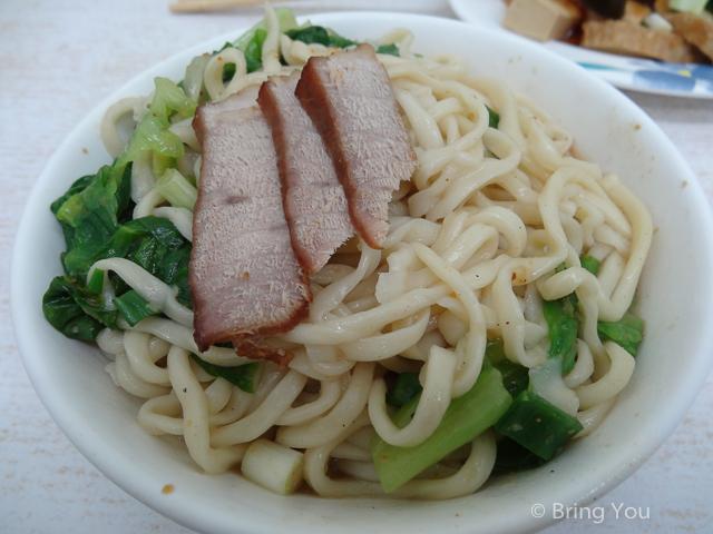 蔬菜排骨麵-3
