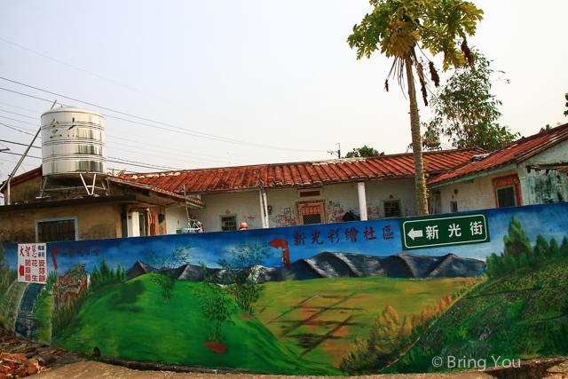 台南旅遊 南寮彩繪村-11