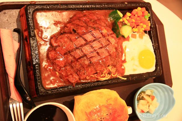 【臺北微風廣場2F美食】台北中正平價牛排 → 95牛排