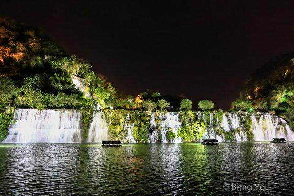 【中國廣西旅遊 柳州】夜遊柳江,現代與古代交織的山水夜色