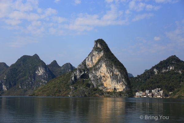 【廣西旅遊 南寧】大龍湖景區喀斯特地貌遊湖之旅,來看水庫上的奇岩怪石