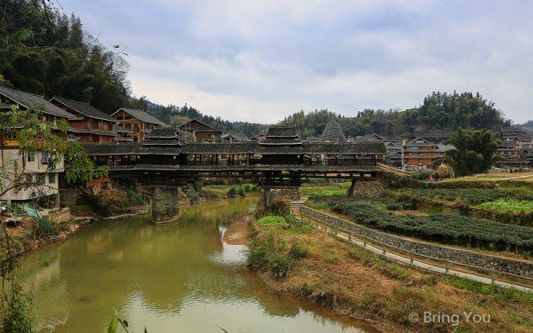 【廣西三江侗族】深入程陽八寨景區,風雨橋外更棒的是與侗族人一同取暖的樂趣