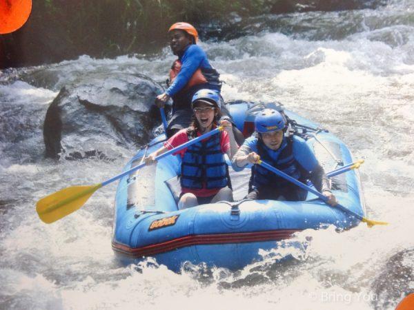 【峇里島阿勇河泛舟】Ayung River 打水仗超High,驚見鱷魚!!!