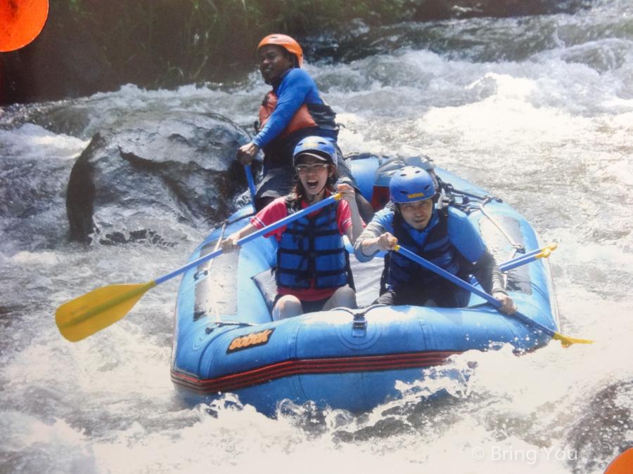bali rafting ayung