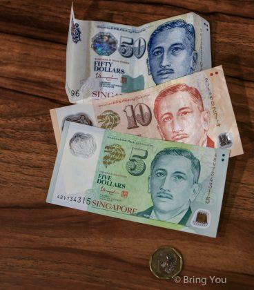 【新加坡行前準備】新加坡幣換匯在台灣銀行換好?還是到新加坡換好?