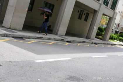 【新加坡觀察筆記|交通篇】馬路上雙鋸齒黃線是做什麼用的?