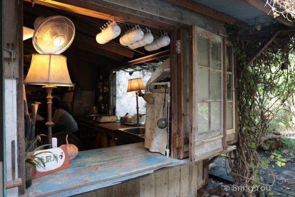 【恆春美食推薦】白羊道柴燒麻糬。百年特色老屋加好吃糯米麻糬