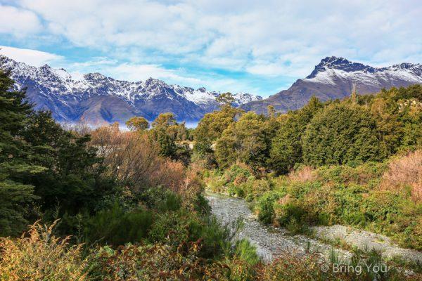【皇后鎮魔戒場景】尋訪紐西蘭南島魔戒拍攝場景,夢幻天堂之路與精靈女王森林