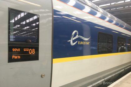【歐洲之星Eurostar】倫敦(London)到巴黎(Paris)交通攻略~票價/如何訂票/車站/時間