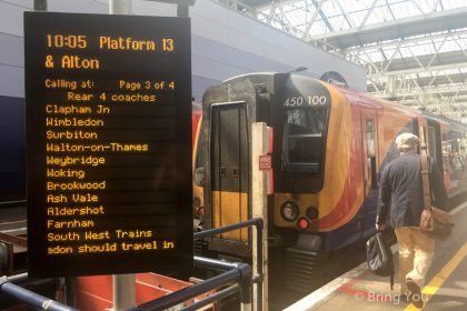 【英國國鐵(National Rail)】搭火車來往英國各城市交通、如何購票、省錢攻略