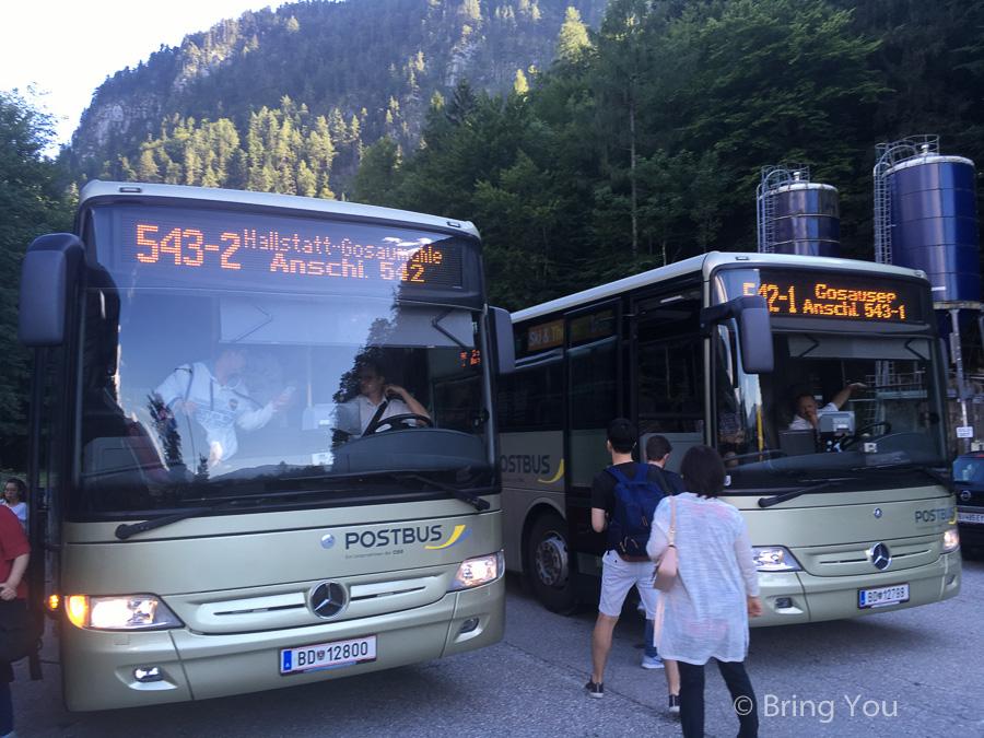 【奧地利交通】薩爾斯堡(Salzburg)到哈修塔特(Hallstatt)巴士&火車轉船攻略