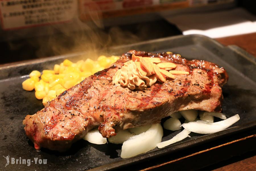 【京都美食】CP值很高的立食牛排「Ikinari Steak」(京都河原町三条店)