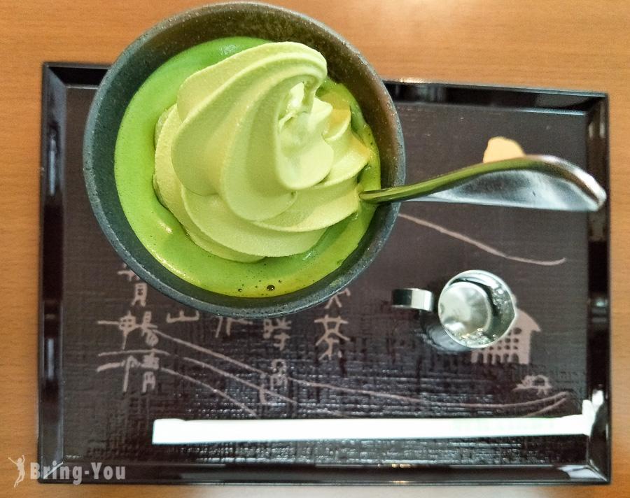 大阪心齋橋抹茶甜點-宇治園