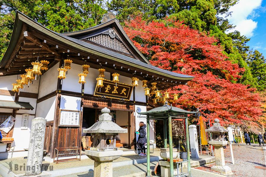 【京都|比叡山紅葉景點】延曆寺東塔介紹&門票&楓葉美景