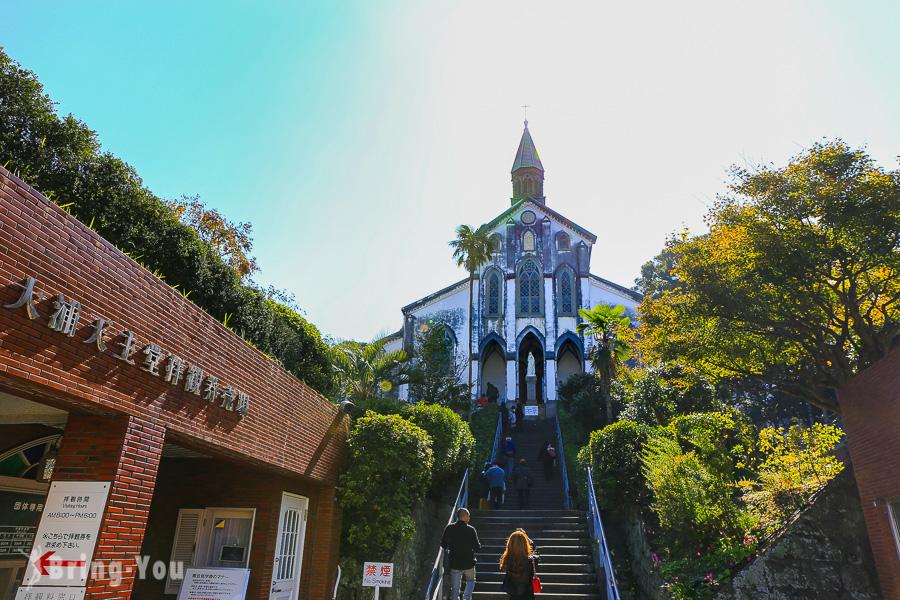 【長崎一日遊景點】大浦天主教堂商店街必吃美食&好買伴手禮
