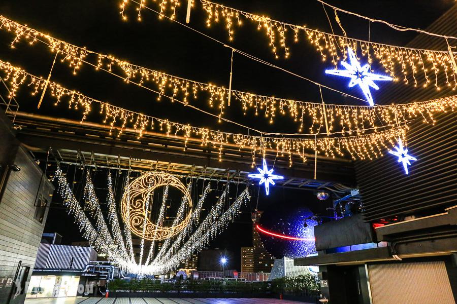 日本大阪聖誕點燈