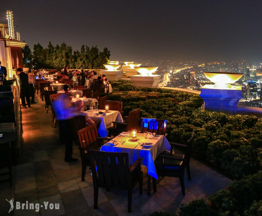 蓮花酒店Sirocco Sky Bar