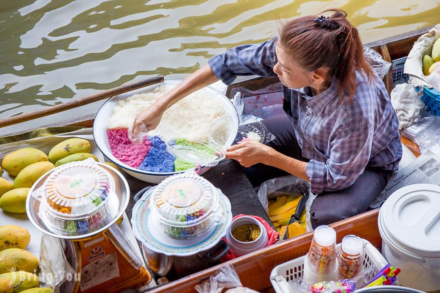 丹能莎朵水上市場