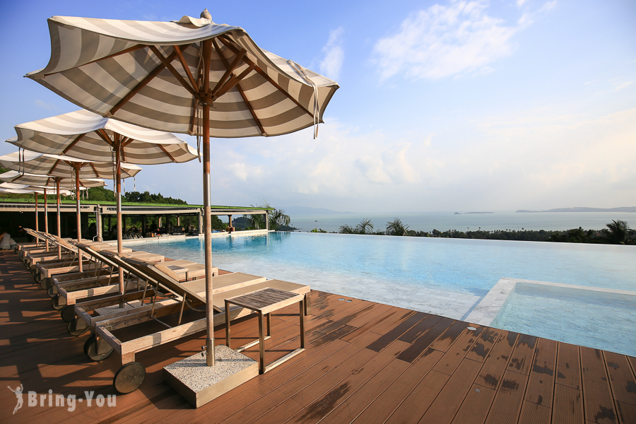 【蘇美島住宿推薦】Mantra Samui Resort,山中絕景VS無邊際泳池