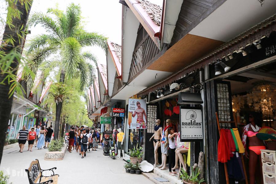 【長灘島景點】D'Mall:Boracay 逛街購物好去處,推薦必買、必吃美食攻略