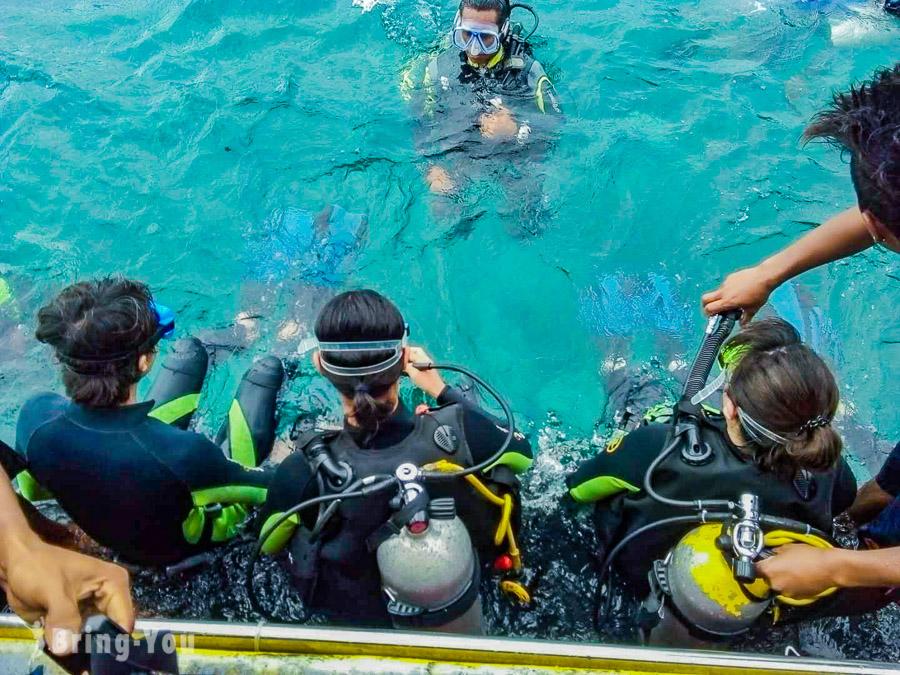 Barocay diving