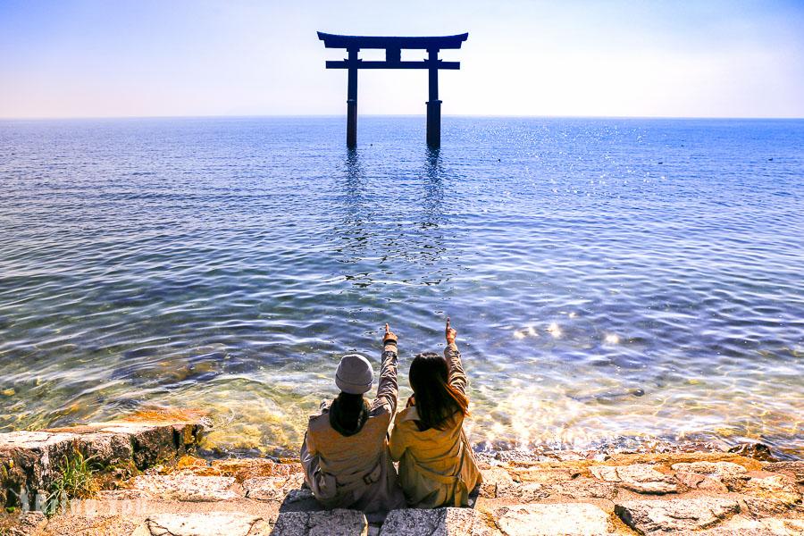 【日本滋賀|琵琶湖旅遊景點】白髭神社、近江八幡、彥根城一日遊