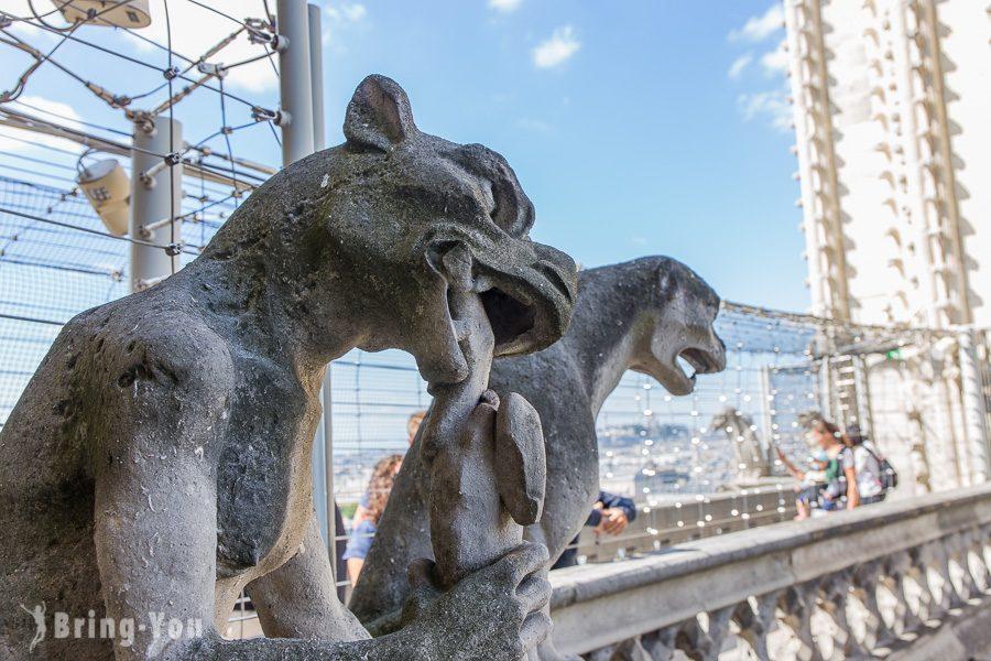 巴黎聖母院石像鬼特寫2
