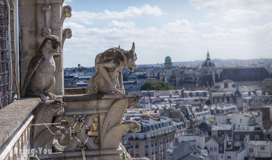 巴黎聖母院石像鬼特寫3