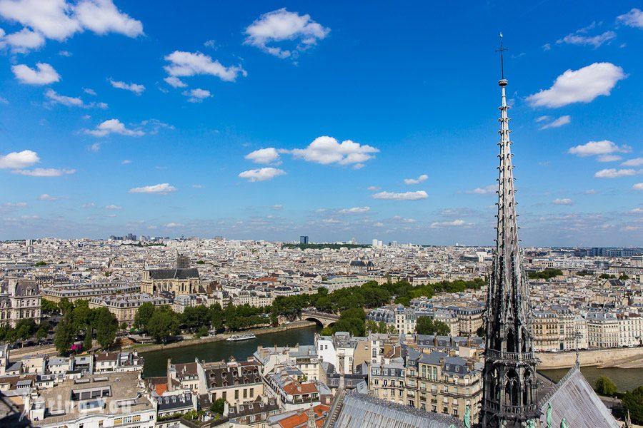 巴黎聖母院尖塔