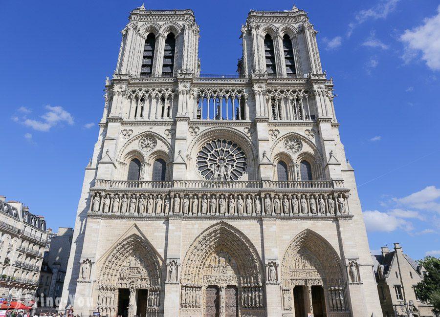 巴黎聖母院外觀