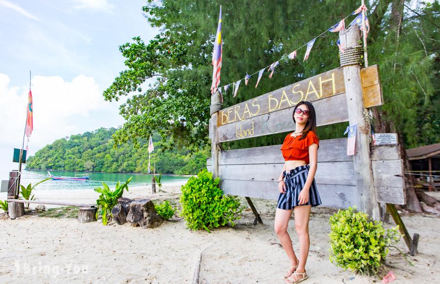 【蘭卡威跳島一日遊】濕米島看猴子、海上老鷹覓食、孕婦島、海釣之旅