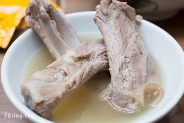 【新加坡三大必吃肉骨茶】「松發肉骨茶」米其林推薦必吃新加坡美食(唐城坊店)