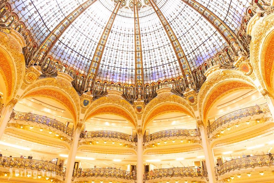 【巴黎購物】老佛爺百貨/拉法葉百貨逛街技巧&生鮮超市美食區(Lafayette Gourmet)