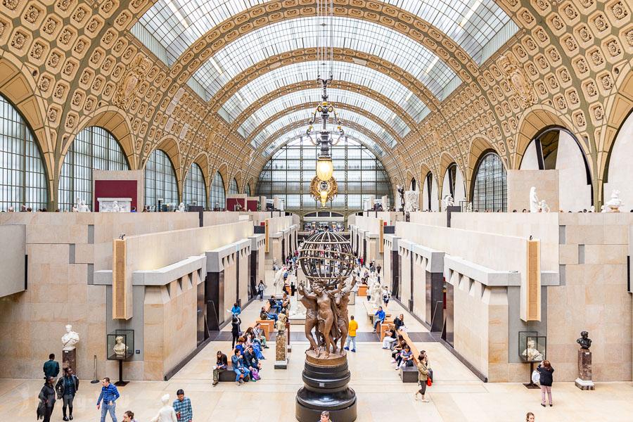【漫遊巴黎美術館】奧賽美術館:必看鎮館之寶,米勒、梵谷、雷諾瓦畫作