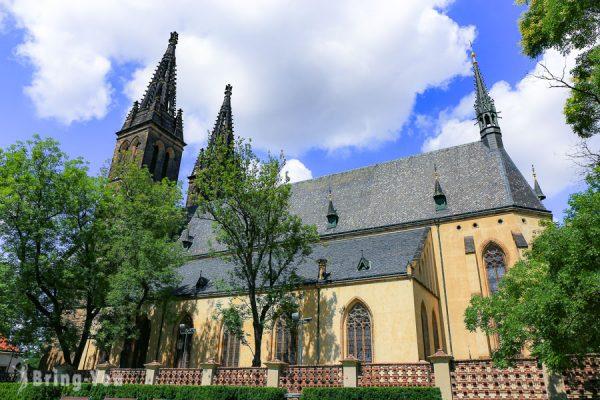 【捷克布拉格高堡區景點】俯瞰伏爾塔瓦河與城堡區(聖馬丁教堂、聖彼得與聖保羅教堂、高堡墓園)