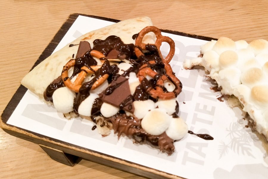 大阪梅田美食Max Brenner Chocolate bar