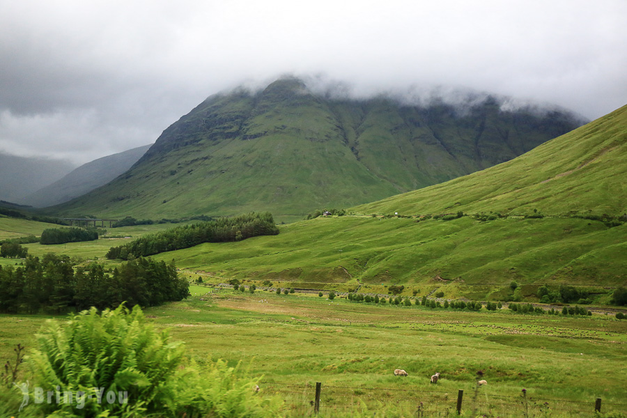 【蘇格蘭高地景點】低地 Scottish Lowlands:史特林城堡、Loch Lomond、Glencoe