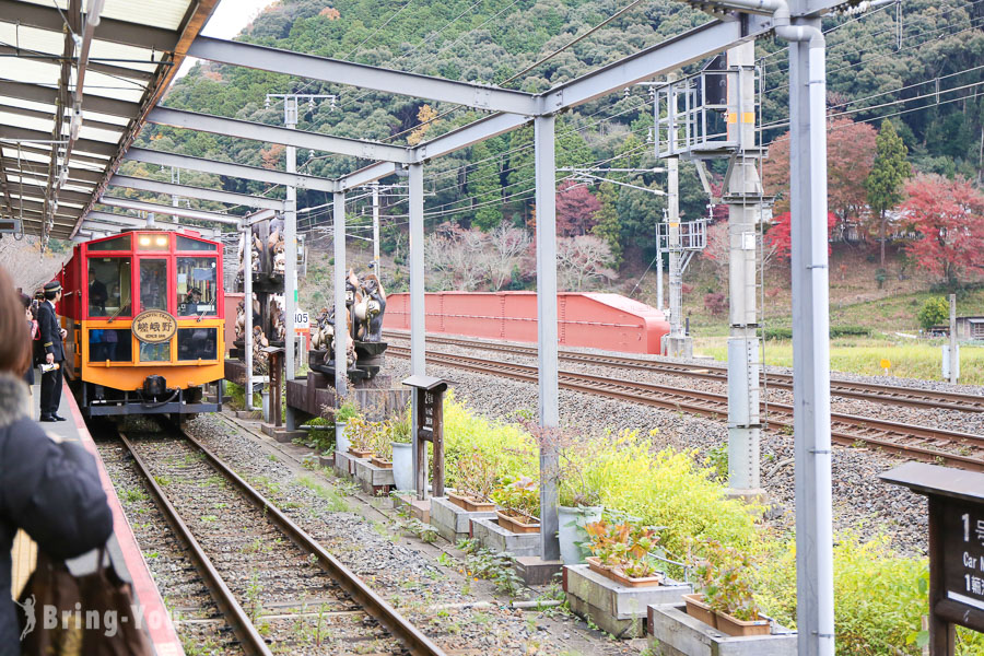 【2020京都嵐山交通】嵐山小火車:復古嵯峨野觀光小火車kkday車票預約、座位選擇