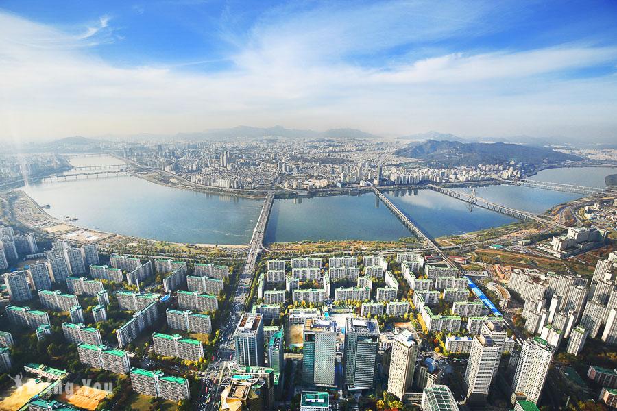 【韓國首爾景點】樂天世界塔 SEOUL SKY:世界最高透明地板觀景臺(優惠門票資訊)
