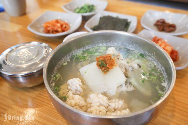 【釜山海雲台市場】心愛的鱈魚湯정든대구탕(鱈濃湯)