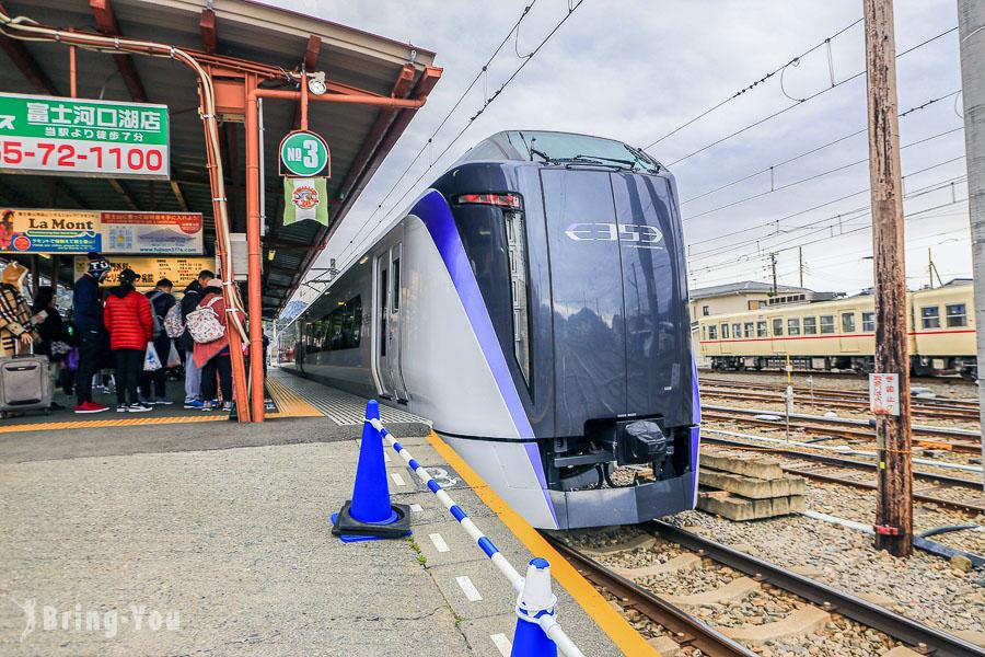 【河口湖交通】河口湖特急電車「富士回遊」:東京新宿直達富士山交通票券攻略