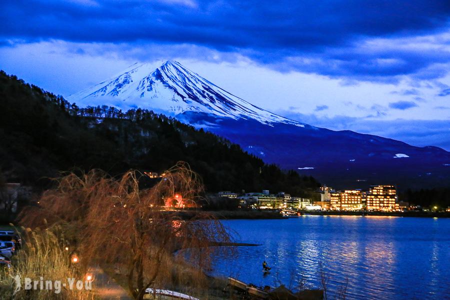 【富士山河口湖住宿】河口湖溫泉飯店推薦:邊泡溫泉邊看富士山,平價、高級住宿精選