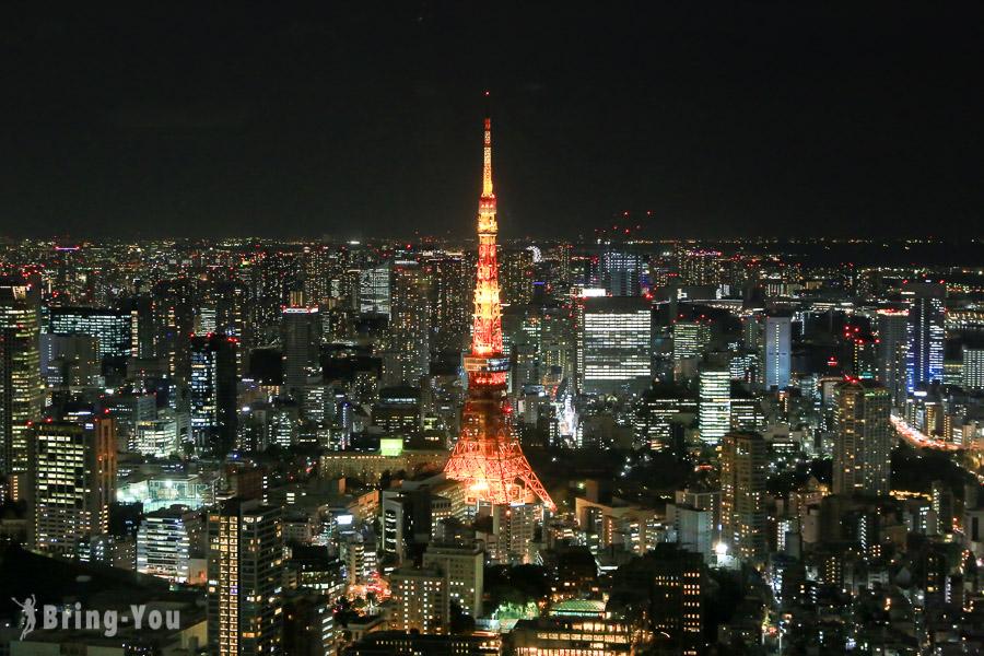 【東京夜景景點】六本木之丘森大樓展望台:看得到東京鐵塔絕景&森美術館分享