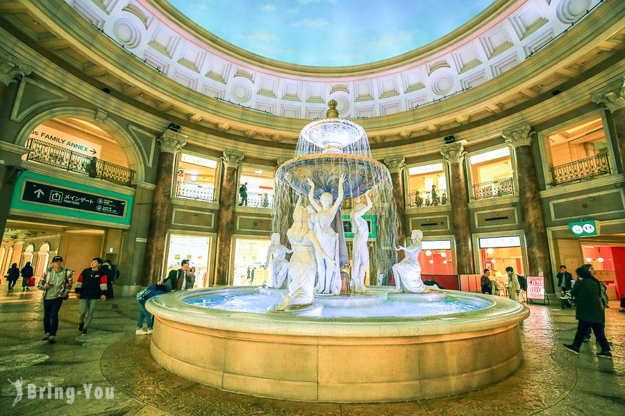 【台場逛街】維納斯城堡(VenusFort)絕美歐風購物中心 Outlet