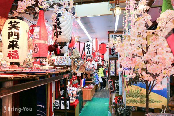 【⼤阪難波】千⽇前道具屋筋商店街,五花八門的烹飪餐廚具都在道頓堀巷內!