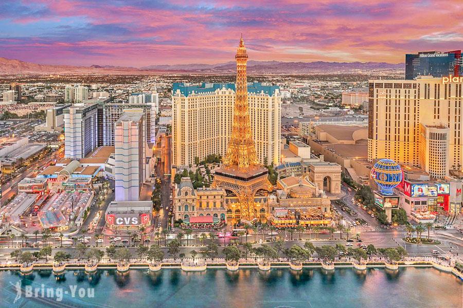 【拉斯維加斯住宿】15間特殊造景酒店:水舞秀、超豪奢賭場、世界聞名成人秀,令人讚嘆的CP值爆表的星級酒店!
